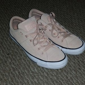 Converse all stars pale pink size 9